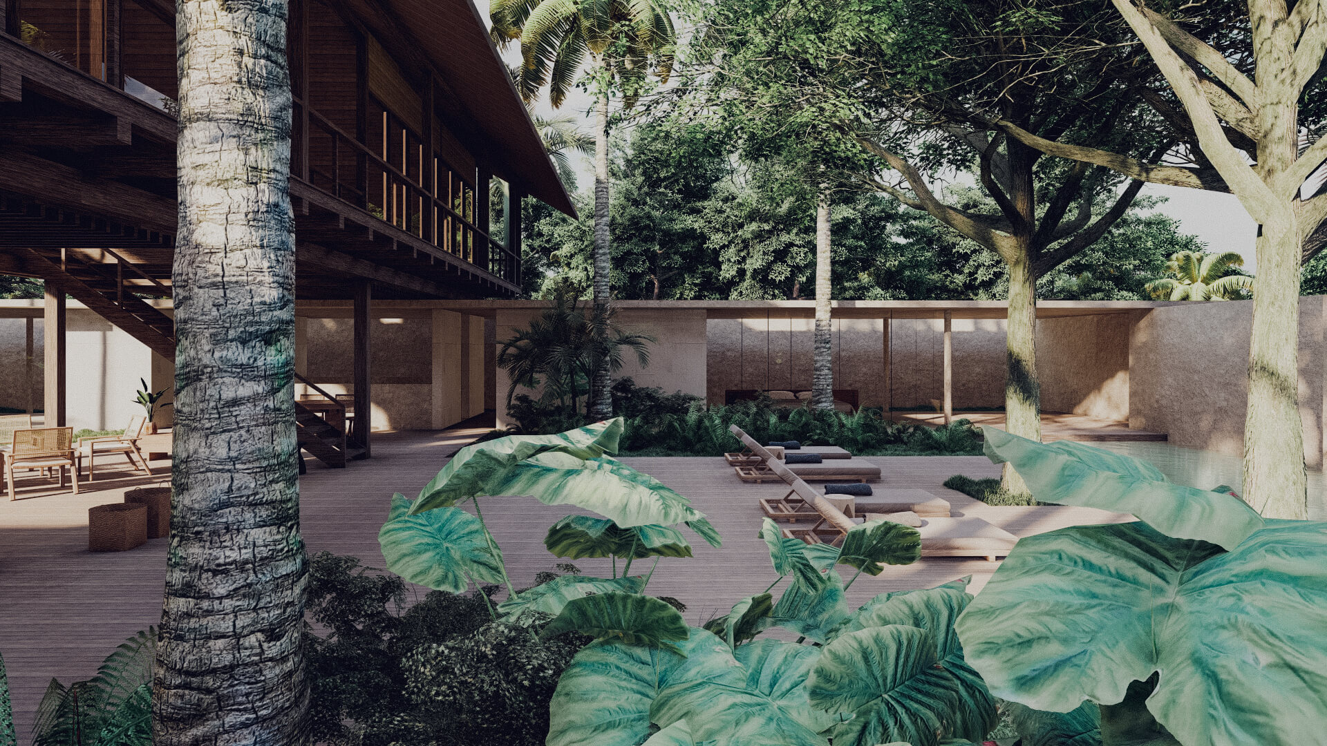 House in Lombok Indonesia Architect general overview