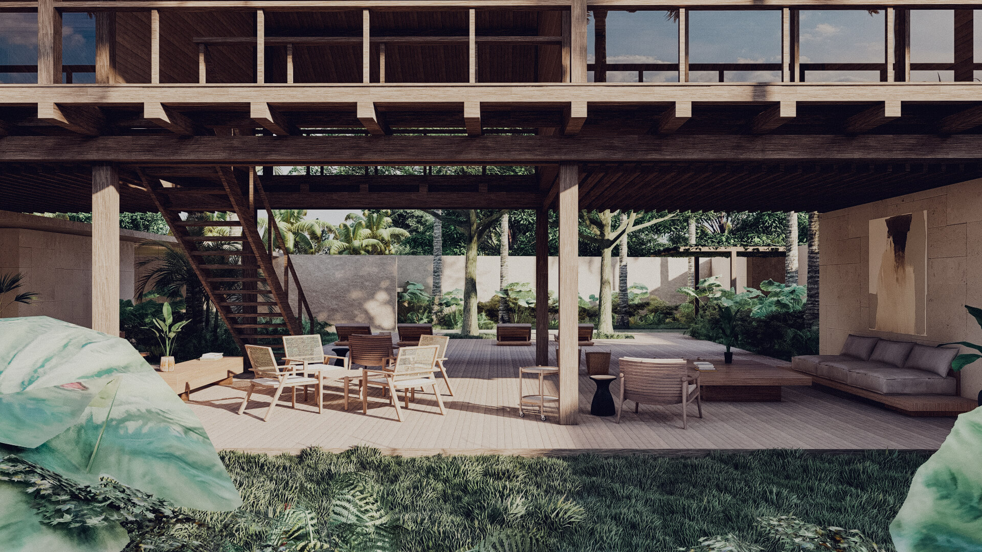 House in Lombok Indonesia Architect