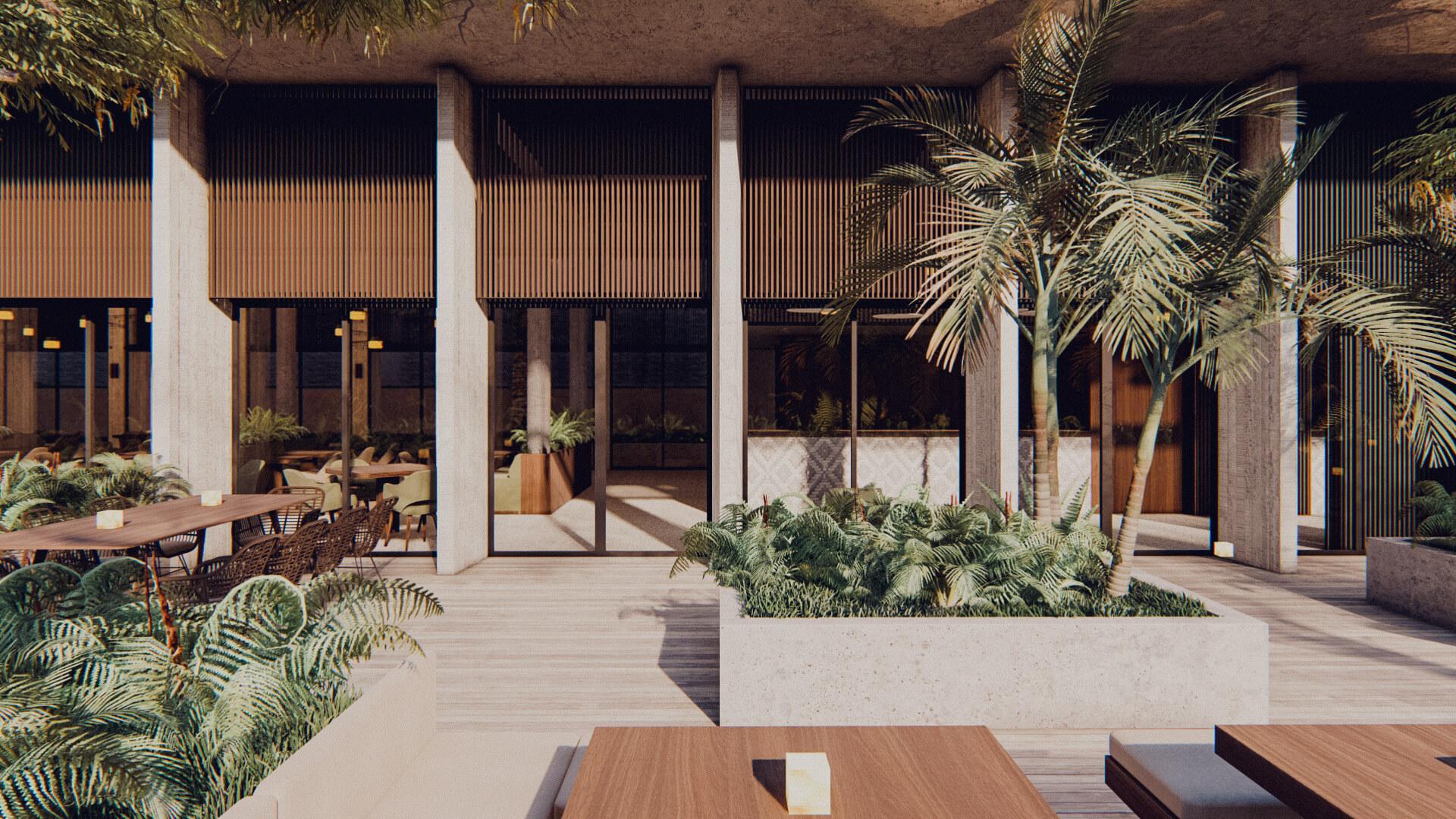 Resort Hotel Restaurant Lombok Bali Architect 01