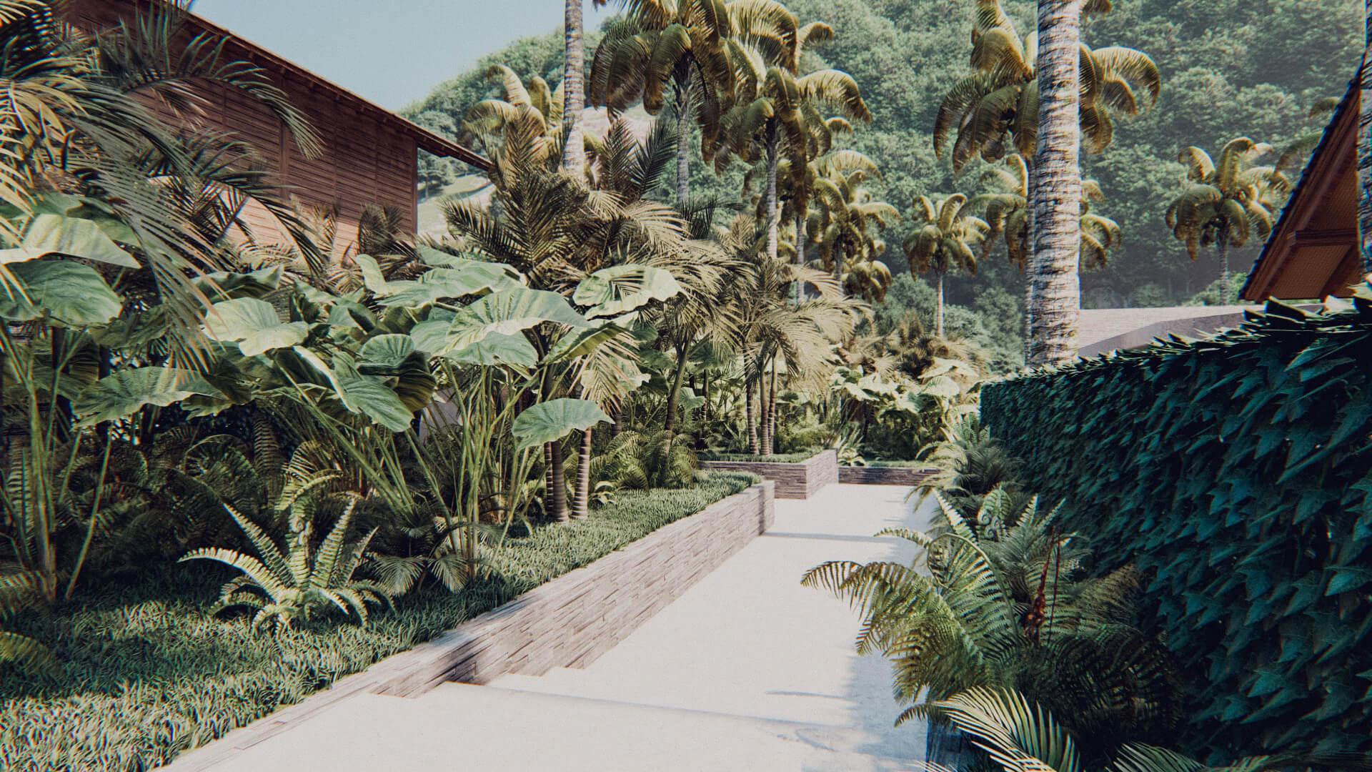 Resort Hotel Villa Compound Lombok Bali Architect 01