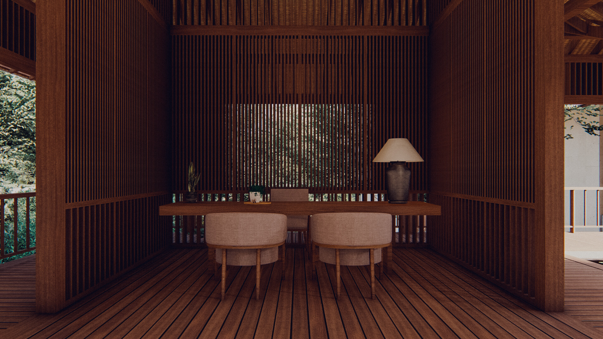 Eco Resort in Lombok Lobby