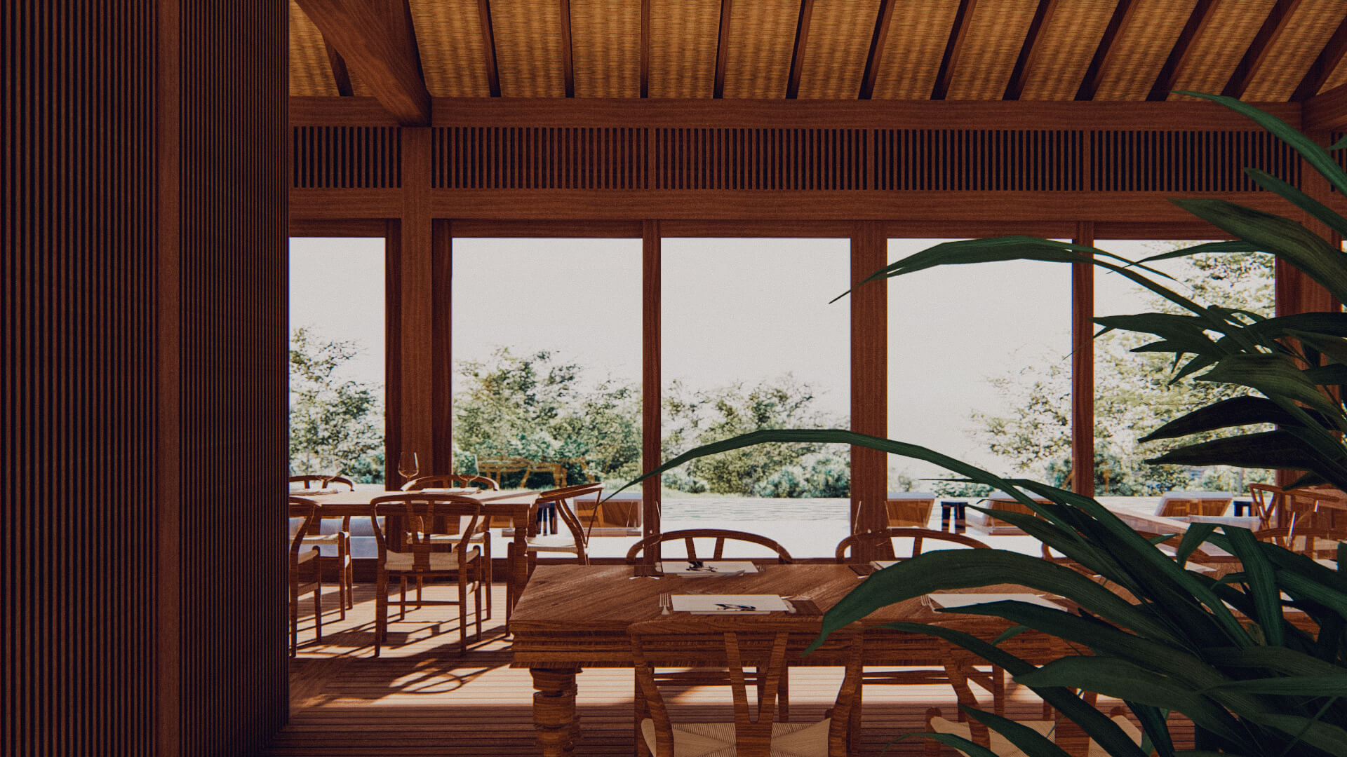 Eco Resort in Lombok Restaurant
