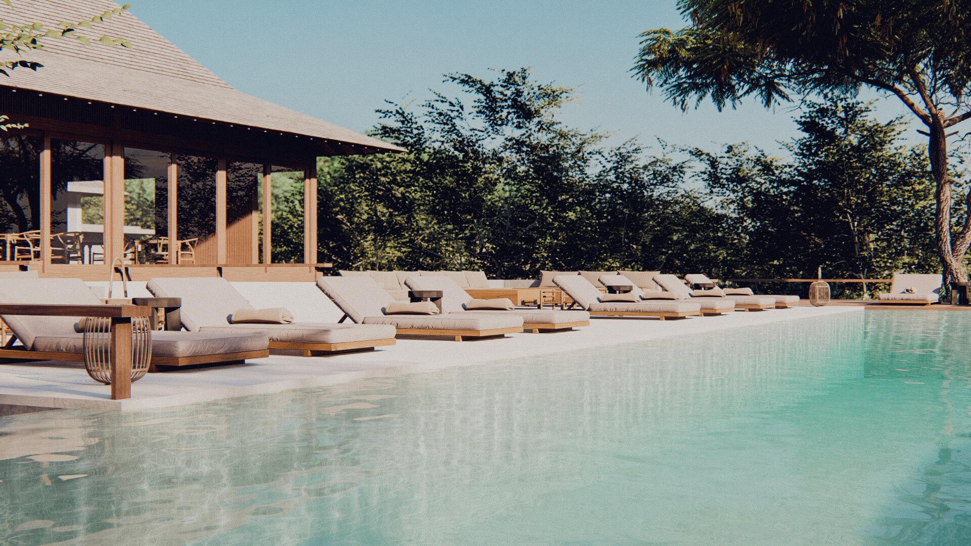 Eco Resort in Lombok Swimming Pool