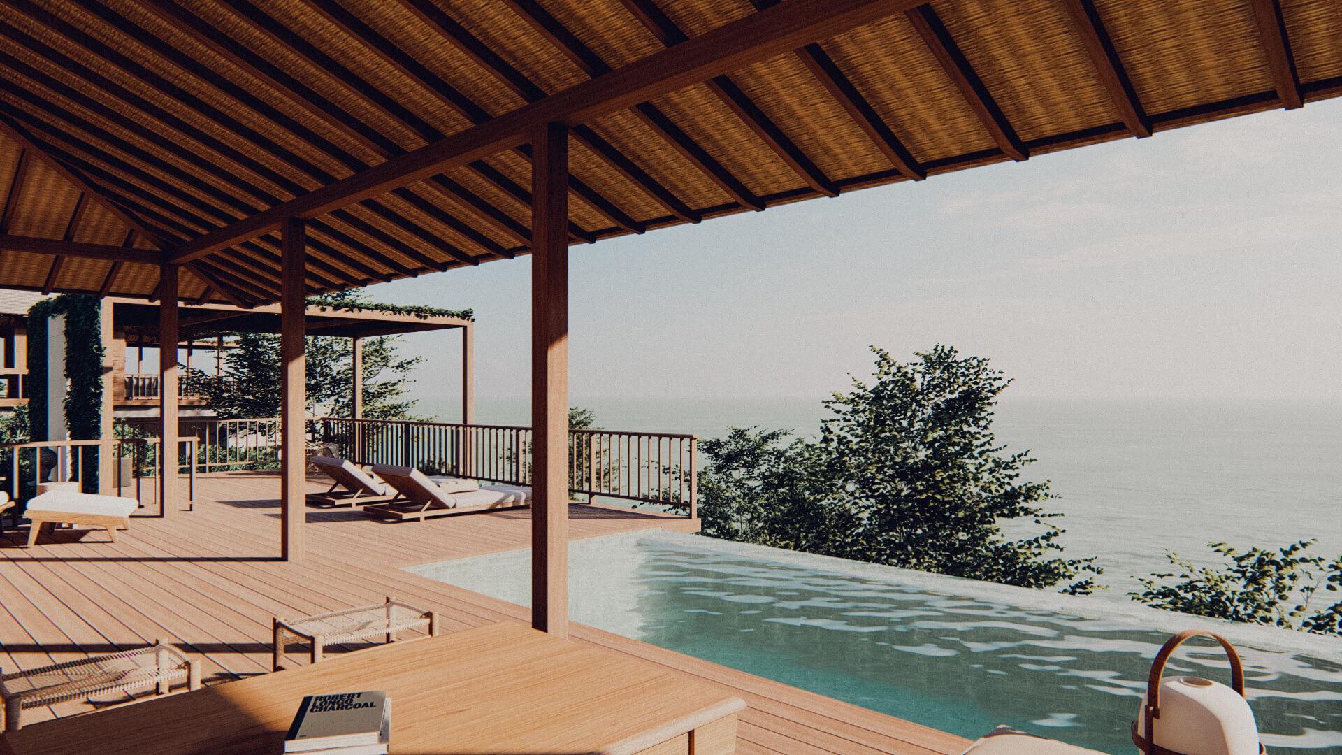 Eco Resort in Lombok Pool Villa Terrace
