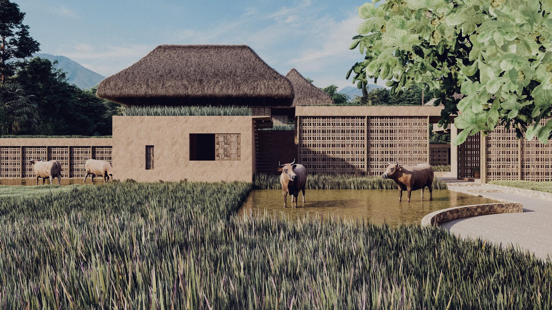 Rumah Besar Sembalun Lombok Architecture Approach